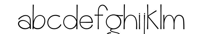 Romanilo Font LOWERCASE