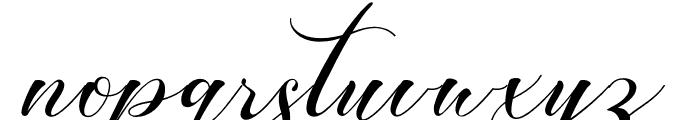 Romansan Font LOWERCASE