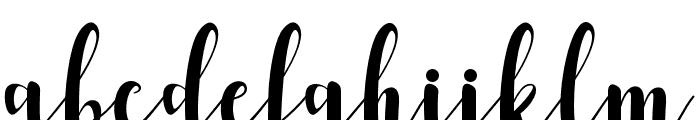RomantisScript Font LOWERCASE