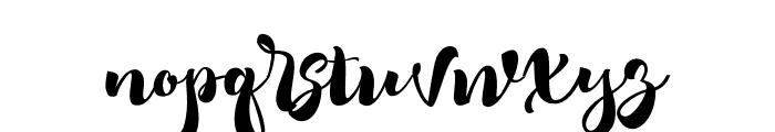 RomeroScript Font LOWERCASE