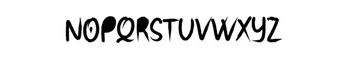 Root Puddin Font UPPERCASE