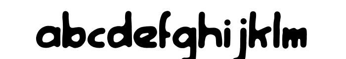 Rootfear Font LOWERCASE