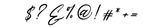 Rosellinda Alyamore Font OTHER CHARS