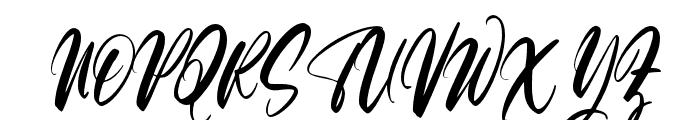 Roses Bloomer Regular Font UPPERCASE