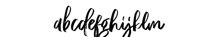 RossieKelly Font LOWERCASE