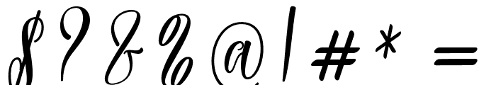 Rossithea Font OTHER CHARS