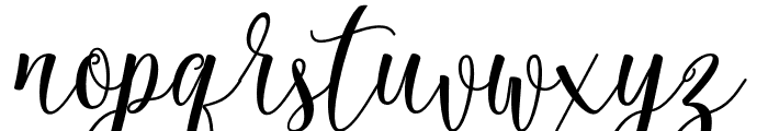 Rossithea Font LOWERCASE