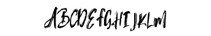 Rubin Key Font UPPERCASE