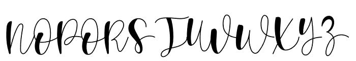 Rumaniaya Font UPPERCASE