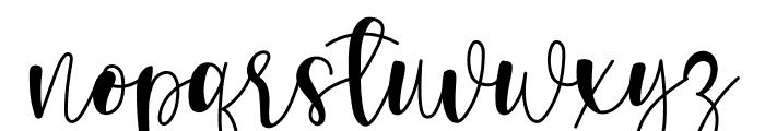 Rumaniaya Font LOWERCASE