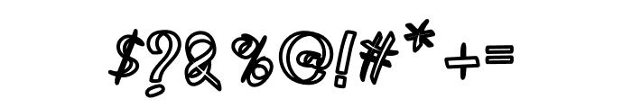 Rumaniya Font OTHER CHARS