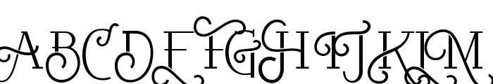 RumbleDeco Font UPPERCASE
