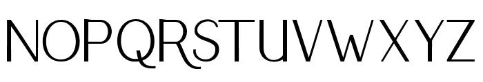 RumbleSans Font UPPERCASE