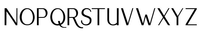 RumbleSans Font LOWERCASE
