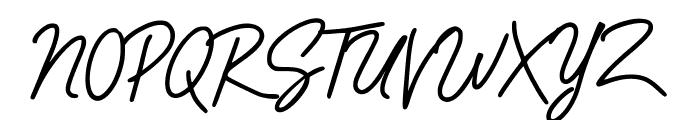 Runningman Font UPPERCASE