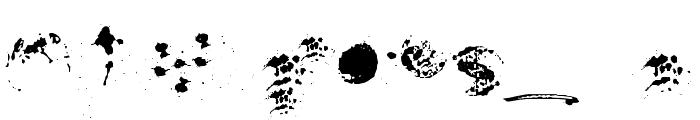 RushtardBonus-Regular Font OTHER CHARS