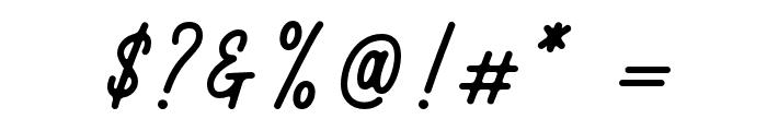 RustedOrlando Font OTHER CHARS