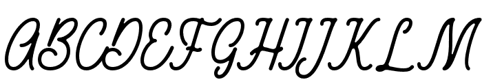 RustedOrlando Font UPPERCASE