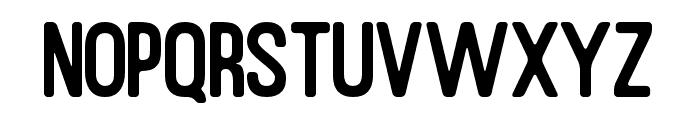 RustedOrlandoSansRounded Font UPPERCASE