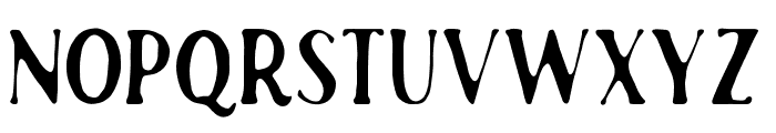 RustedOrlandoSerif Font LOWERCASE