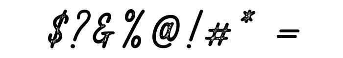 RustedOrlandoStamp Font OTHER CHARS