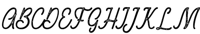 RustedOrlandoStamp Font UPPERCASE