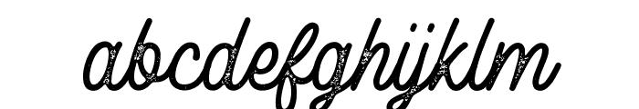 RustedOrlandoStamp Font LOWERCASE