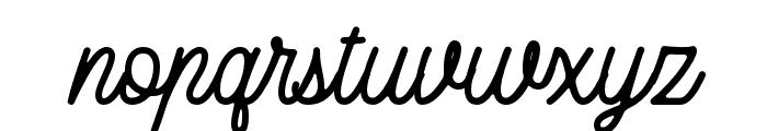 RustedOrlando Font LOWERCASE