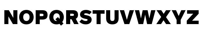 Rutan Black Font UPPERCASE