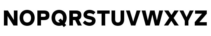 Rutan Bold Font UPPERCASE