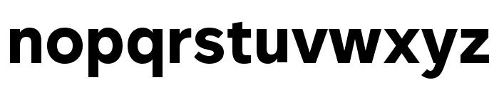 Rutan Bold Font LOWERCASE