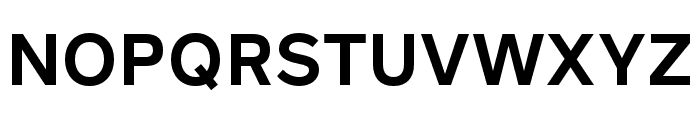 Rutan DemiBold Font UPPERCASE