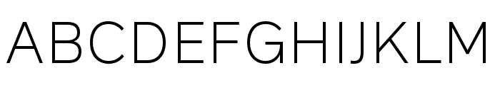 Rutan Light Font UPPERCASE