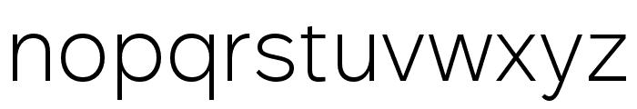 Rutan Light Font LOWERCASE