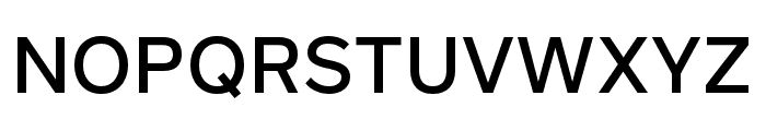 Rutan Medium Font UPPERCASE