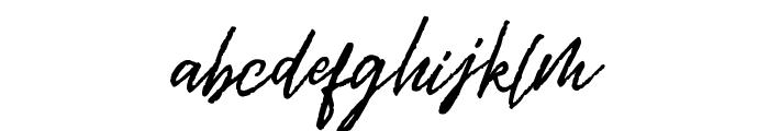 Rythmic Dances Regular Font LOWERCASE