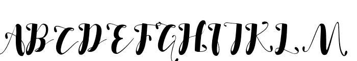 SALSABILLA Font UPPERCASE