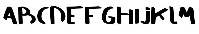 SAVAGE Regular Font UPPERCASE