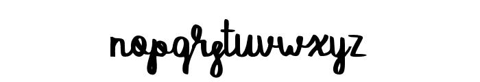 SAVAGE Regular Font LOWERCASE