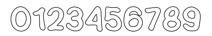 SEMERU Outline Font OTHER CHARS