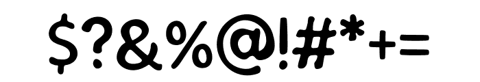 SEMERU Stamp Font OTHER CHARS