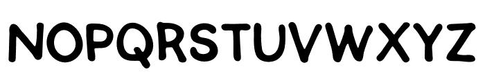 SEMERU Font UPPERCASE