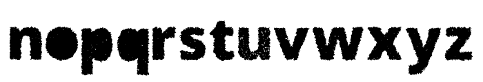 SI47ASH Color Dream Distorted Font LOWERCASE