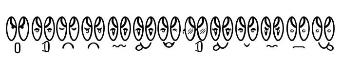 SMILE SCHOOL EXTRAS Regular Font LOWERCASE