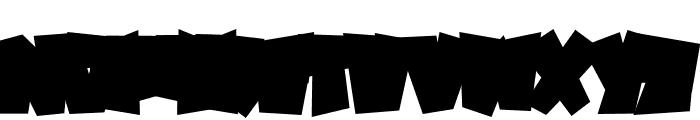 SPOOKY MONSTER BASE Font UPPERCASE