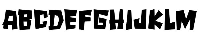 SPOOKYMONSTER Font UPPERCASE