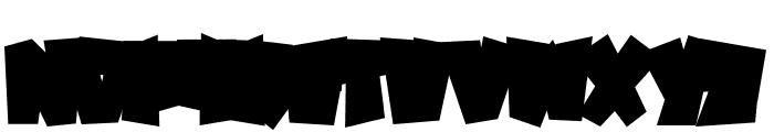 SPOOKYMONSTERBASE Font UPPERCASE