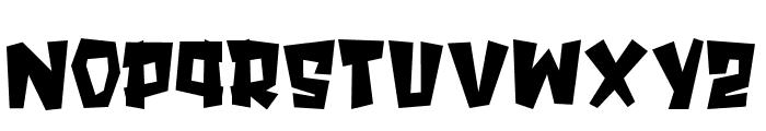 SPOOKYMONSTER Font LOWERCASE