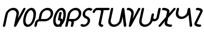 STAR CONSTELLATION Bold Italic Font UPPERCASE