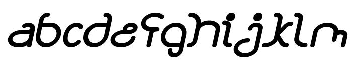 STAR CONSTELLATION Bold Italic Font LOWERCASE